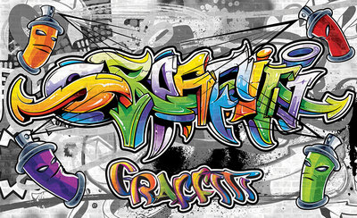 Graffiti Photo Wallpaper Mural 2295P8