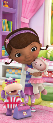 Doc McStuffins Girls Bedroom Door Mural Photo Wallpaper 962VET