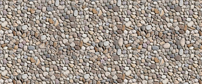 Pebbles Rural Landscape Panoramic Photo Wall Mural 514VEP