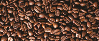 Coffee Beans Panoramic Photo Wall Mural 182VEP