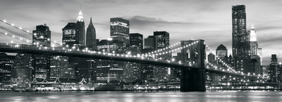 New York Panoramic Photo Wall Mural 011VEP