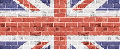 The United Kingdom Flag Panoramic Photo Wall Mural 518VEP