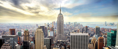 New York Panoramic Panoramic Photo Wall Mural 2317VEP