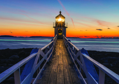 Lighthouse Photo Wall Mural 12023P8