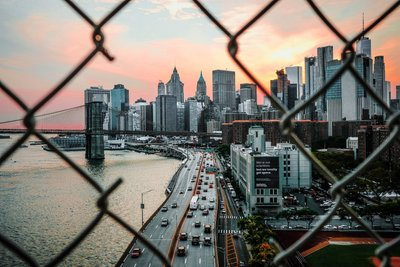 New York Wallpaper Photo Mural