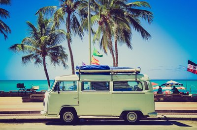 Volkswagen Camper T1 Wallpaper Photo Mural