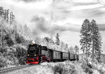 Locomotief Fotobehang 13010P8
