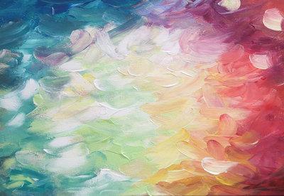 Kleuren Pallet Kwast Fotobehang 12921P8