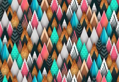Modern Kleurrijk Fotobehang 12917P8