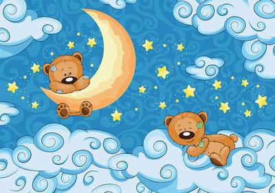 Beren Baby Fotobehang 12798P8