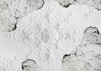 Beton Ornament Fotobehang 12613P8