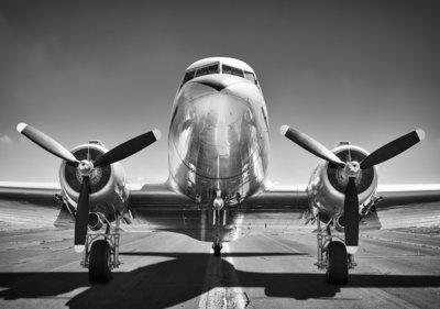 Propellor Vliegtuig Fotobehang 12675P8