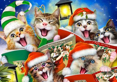 Merry Christmas Selfie Fotobehang 12870P8