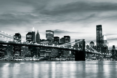 Brooklyn Bridge Photo Wallpaper Mural 226P8