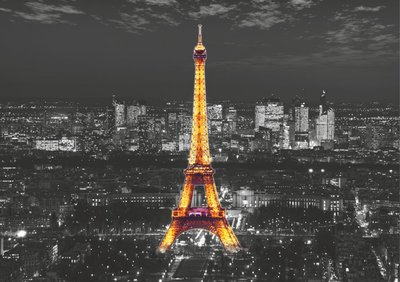 Dutch Wallcoverings AG Design Eiffel In The Night (4 Delen) FTS1316