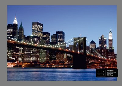 Dutch Wallcoverings AG Design Brooklyn Bridge (4 Delen) FTS0107