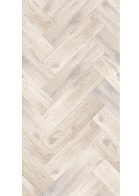 KEK Amsterdam Oak Herringbone White WP.371