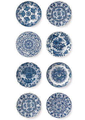 KEK Amsterdam Royal Blue Plates WP.373