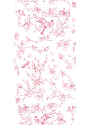 KEK Amsterdam Birds & Blossom pink WP.376