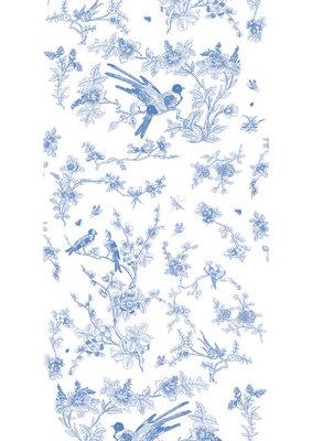 KEK Amsterdam Birds & Blossom blue WP.378