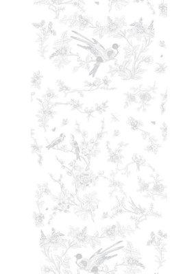 KEK Amsterdam Birds & Blossom Gray WP.379