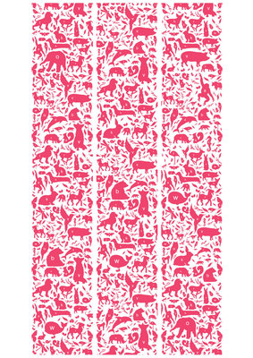 KEK Amsterdam animal alphabet fuchsia WP.051