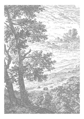 KEK Amsterdam Engraved Landscape IV WP.315