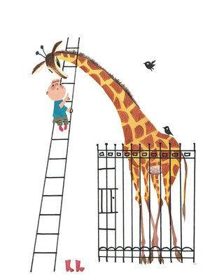 KEK Amsterdam Giant Giraffe WS.040