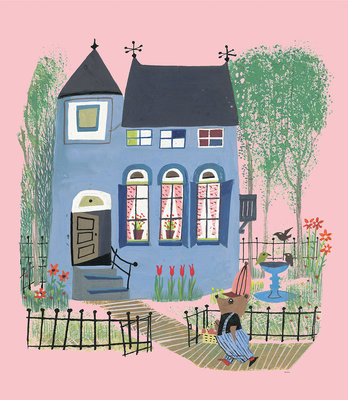 KEK Amsterdam Bear Whiteh Blue House WS.043