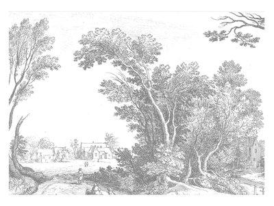 KEK Amsterdam Engraved Landscape V WP.326
