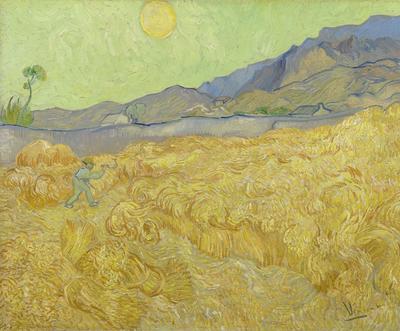 BN Wallcoverings Van Gogh / No Limits 30544 Korenveld Met