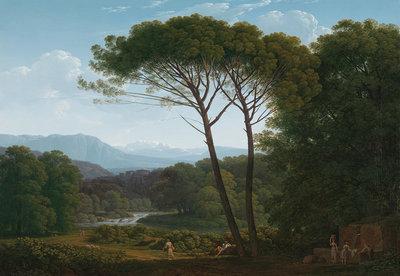 Rijksmuseum Italian Landscape Hendrik Voogd RM37 (FREE Glue Included!)