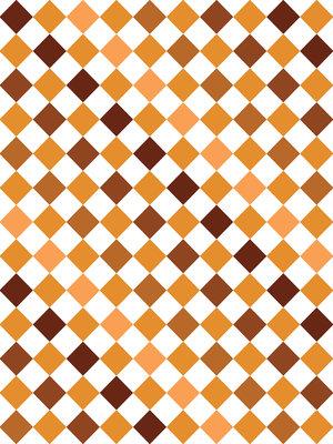 Brown Tiles Mosaic Photo Wall Mural 10699VEA