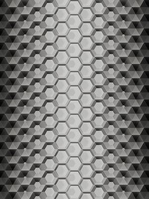 3D Hexagons Photo Wall Mural 10763VEA