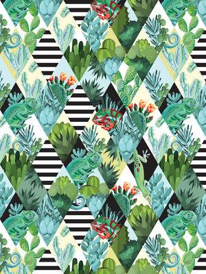 Cactus Photo Wall Mural 11091VEA