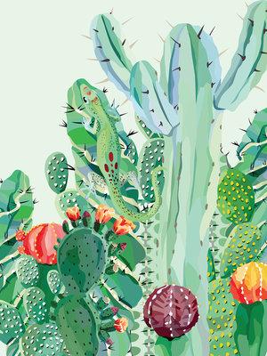 Cactus Photo Wall Mural 11140VEA