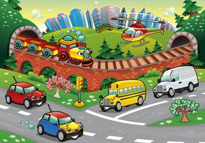 Cars Photo Wall Mural 13290P8