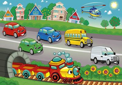 Cars Photo Wall Mural 13289P8