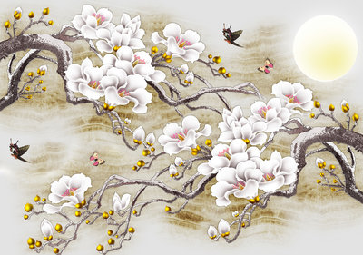 Cherry blossom Photo Wall Mural 13287P8