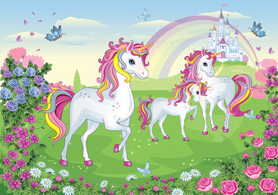 Unicorns Photo Wall Mural 13239P8