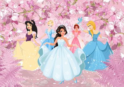 Princesses Photo Wall Mural 13236P8