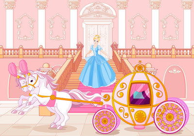 Princess Photo Wall Mural 12542P8
