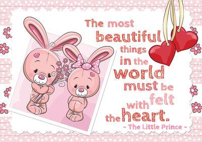 Plush bunnies Photo Wall Mural 12540P8
