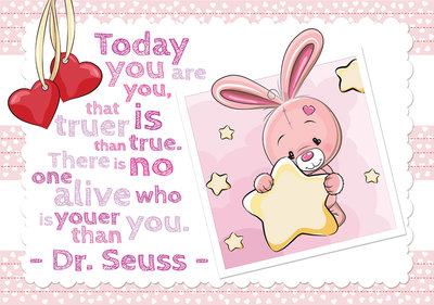 Plush bunnies Photo Wall Mural 12539P8