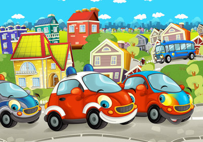 Cars Photo Wall Mural 12536P8