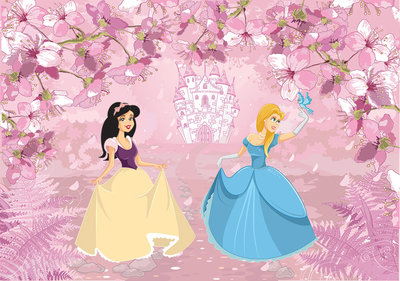 Princesses Photo Wall Mural 12531P8