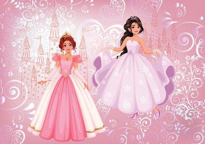 Princesses Photo Wall Mural 12529P8