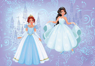 Princesses Photo Wall Mural 12527P8