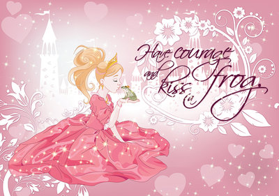 Princesses and frog Photo Wall Mural 12530P8