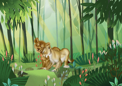 Lion King Love DX8-029